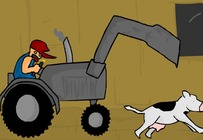 Massacre-game-with-a-tractor