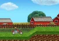 Motorcycle-game-with-a-farmer