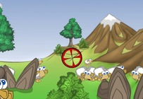 Shooting-game-on-sheep